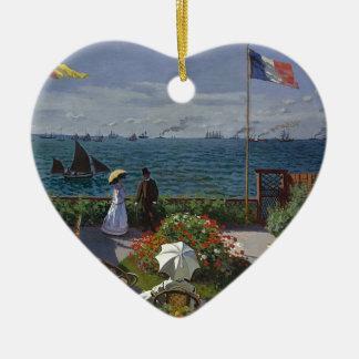 Adorno De Cerámica Claude Monet - el jardín en el arte de Sainte