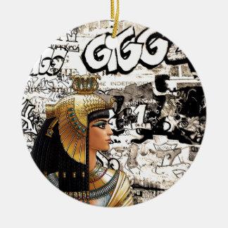 Adorno De Cerámica Cleopatra