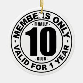 Adorno De Cerámica Club finalmente 10