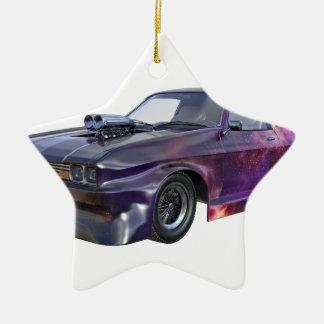 Adorno De Cerámica Coche púrpura 2016 del músculo de la galaxia