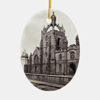 Adorno De Cerámica College de rey - universidad de Aberdeen - vintage