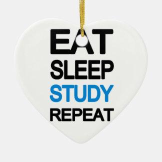 Adorno De Cerámica Coma la repetición del estudio del sueño