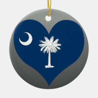 Adorno De Cerámica Compre la bandera de Carolina del Sur