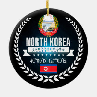 Adorno De Cerámica Corea del Norte