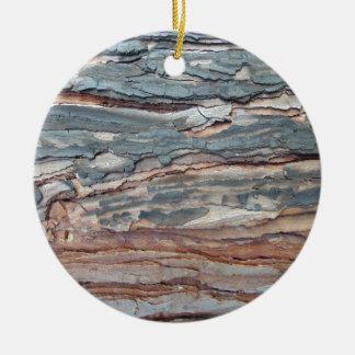 Adorno De Cerámica Corteza carbonizada del pino