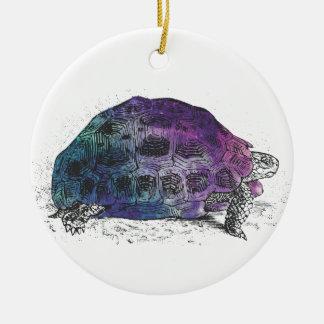 Adorno De Cerámica Cosmic turtle 4