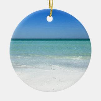 Adorno De Cerámica Costa del Golfo de la playa de la siesta