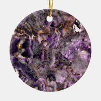 Adorno De Cerámica cuarzo púrpura