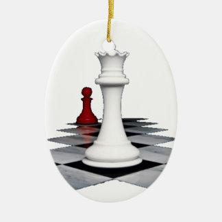 Adorno De Cerámica de ajedrez