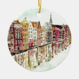 Adorno De Cerámica de Amsterdam