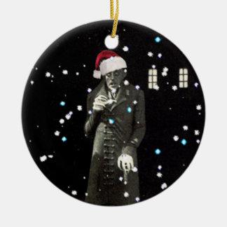 Adorno De Cerámica de Nosferatu en Navidad