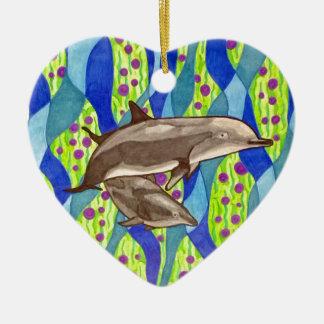 Adorno De Cerámica delfín