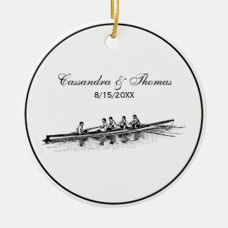 Adorno De Cerámica Deportes acuáticos del equipo del equipo de los