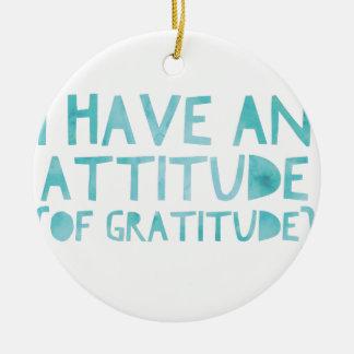 Adorno De Cerámica Detox AA de la recuperación de la gratitud de la
