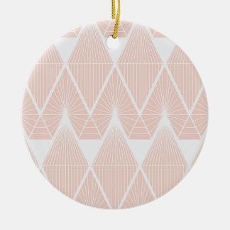 Adorno De Cerámica Diamantes rosados