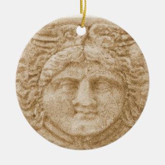 Adorno De Cerámica Dios griego HERMES