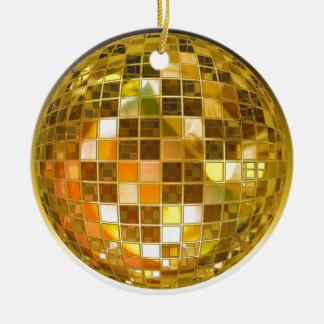 Adorno De Cerámica Disco del fiesta de la luz de la danza del salto