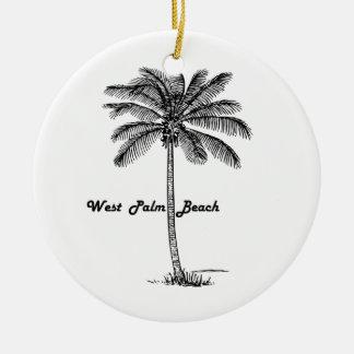Adorno De Cerámica Diseño blanco y negro de West Palm Beach y de la
