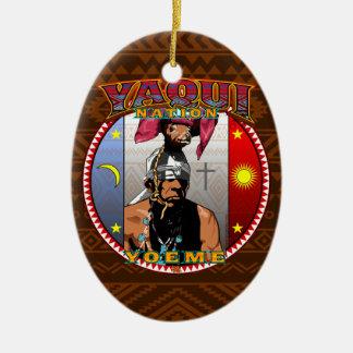 Adorno De Cerámica Diseño del bailarín de los ciervos de Yaqui Yoeme