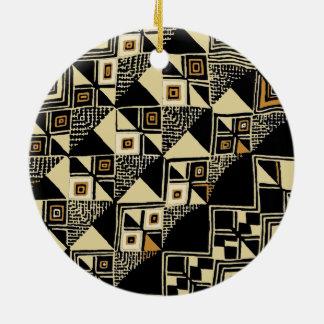 Adorno De Cerámica Diseños inspirados Kuba del africano