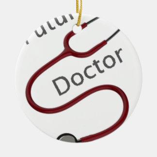 Adorno De Cerámica Doctor futuro el Dr.