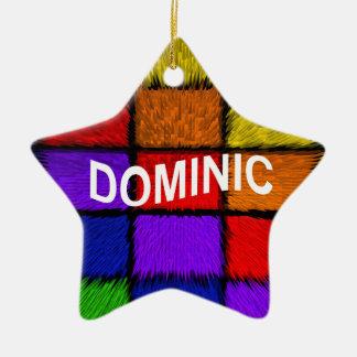 ADORNO DE CERÁMICA DOMINIC