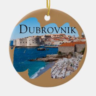 Adorno De Cerámica Dubrovnik con una visión