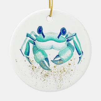Adorno De Cerámica El cangrejo de Neptuno
