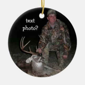 Adorno De Cerámica El cazador de los ciervos de la colección del