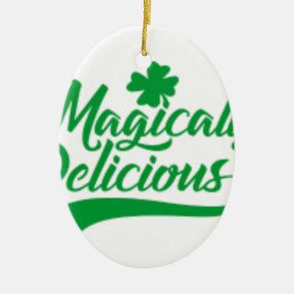 Adorno De Cerámica El día de St Patrick mágico delicioso