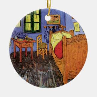 Adorno De Cerámica El dormitorio de Vincent en Arles de Vincent van