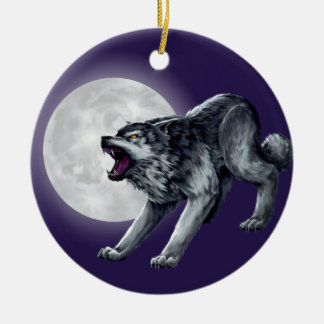 Adorno De Cerámica El lobo de Wolfe
