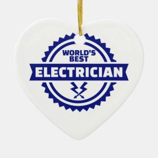Adorno De Cerámica El mejor electricista del mundo