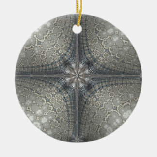 Adorno De Cerámica El navidad adorna con una estrella y una natividad