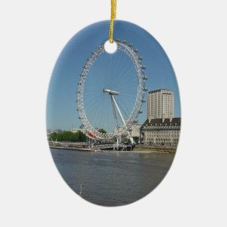 Adorno De Cerámica El ojo de Londres