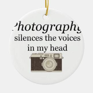 Adorno De Cerámica el pstvimhPhotography silencia las voces en mi