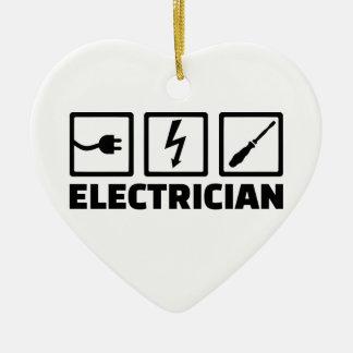 Adorno De Cerámica Electricista