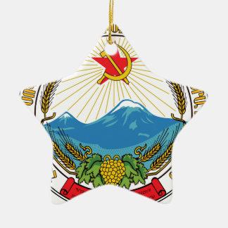 Adorno De Cerámica Emblema de la república socialista soviética