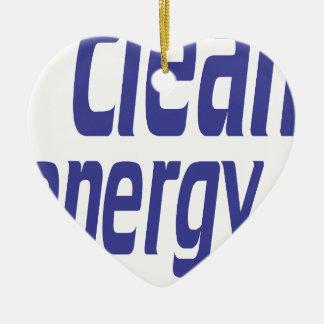 Adorno De Cerámica Energía limpia