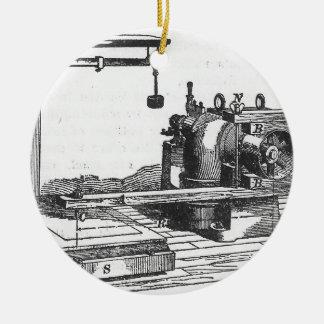 Adorno De Cerámica Ephemeras antiguas del vintage de la herramienta