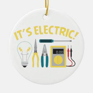 Adorno De Cerámica Es eléctrico