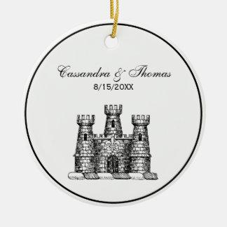 Adorno De Cerámica Escudo heráldico del escudo de armas del emblema