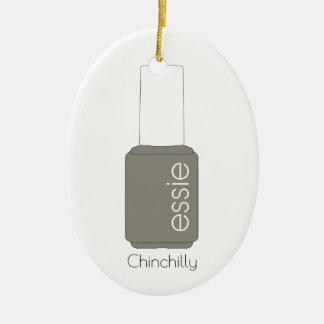 Adorno De Cerámica Esmalte de uñas - Chinchilly