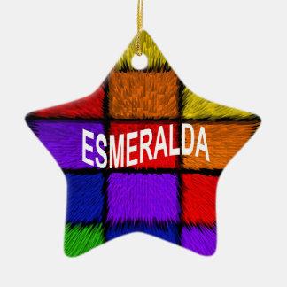 ADORNO DE CERÁMICA ESMERALDA