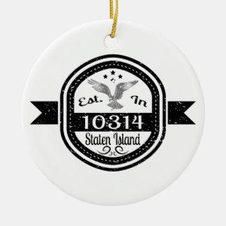 Adorno De Cerámica Establecido en 10314 Staten Island