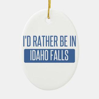 Adorno De Cerámica Estaría bastante en las caídas de Idaho