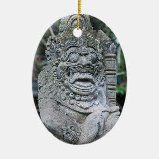 Adorno De Cerámica Estatua de dios del Balinese