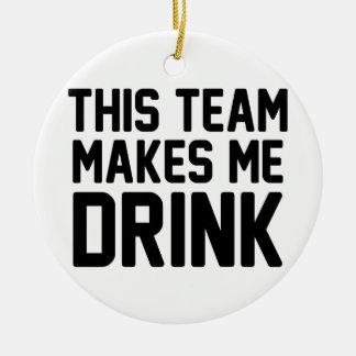 Adorno De Cerámica Este equipo hace que bebe