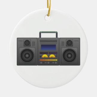 Adorno De Cerámica estilo Boombox de Hip Hop de los años 80