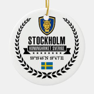 Adorno De Cerámica Estocolmo